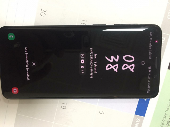 S9 64 GB MIDNIGHT BLACK SALE MINT CONDITION