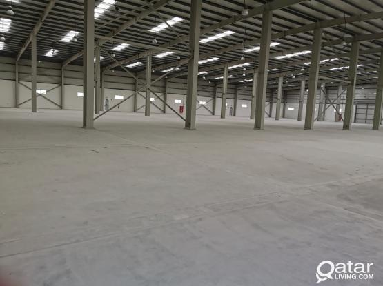 9200.sqm and 6800. sqm FOOD/GENERAL STORE  FOR RENT IN INDUSTRIAL AREA