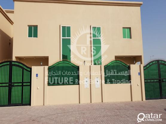 For rent service villas in Abu Hamour
