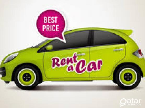 BEST RATE FOR RENT ANY H-BACK, SEDAN & SUV CARS ON MONTHLY &DAILY BASIS . KINDLY, CALL/WhatsApp 50399150/33131241