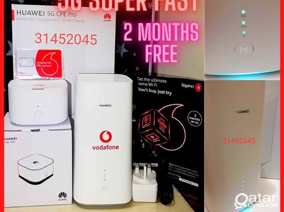 5G Super Fast Internet UNLIMITED