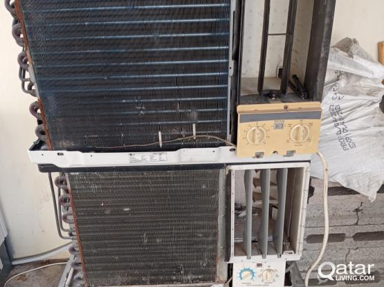 Used ac for scrap