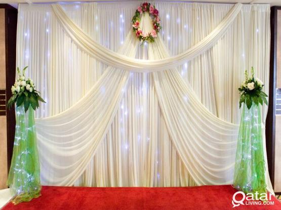 Wedding & Birthday Decoations