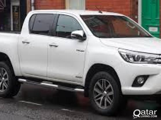 Nissan Pickup & Toyota Hilux for Rent Call 50449441 / 5044746 / 30834434