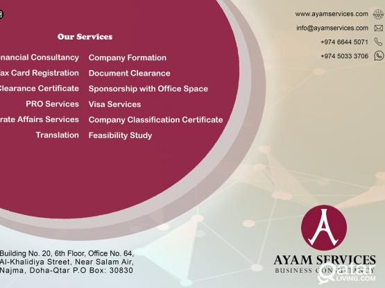 COMPANY FORMATION & OFFICE SPACES AT A REASONABLE PRICE