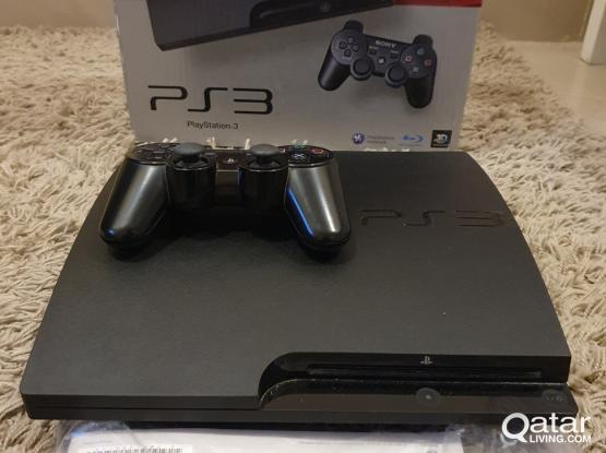ps3 jailbreaked with many games in New condition!