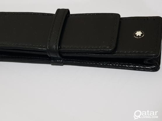 MONT BLANC Leather Pen Case