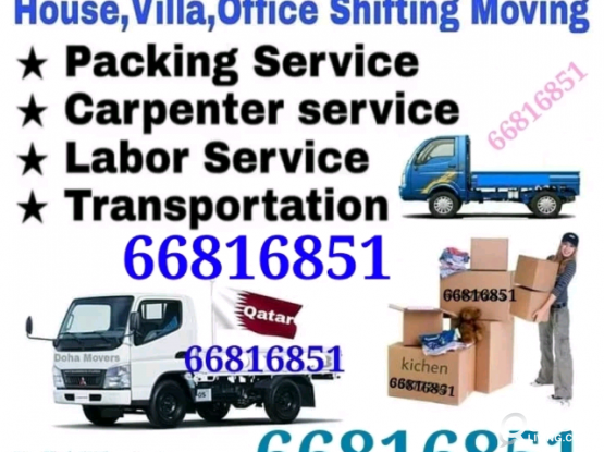 We do all kinds of shifting and moving. Please call 66816851
