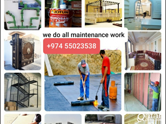 Salim - Handy Man | Building Maintenance Professional | Painter & Decorator | Paving | Plumbing  |  call 55023538