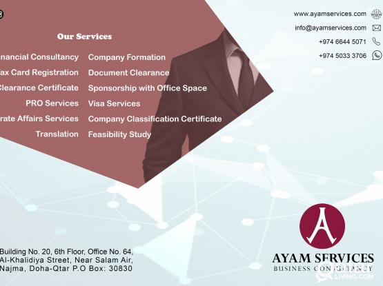 COMPANY SET UP & OFFICE SPACES AT A REASONABLE PRICE