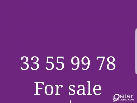 VIP NUMBER FOR SALE 33 55 99 78,