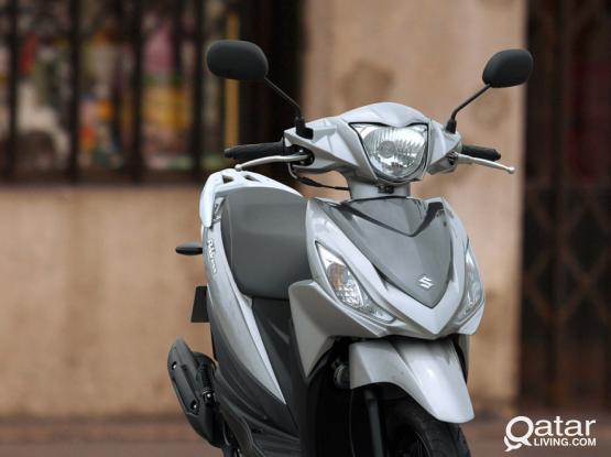 Suzuki Motorcycle IN 125 2018