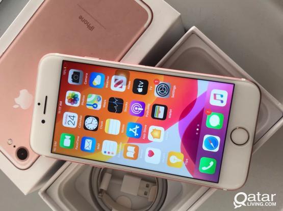 I Phone 7 128 gb Rose Gold