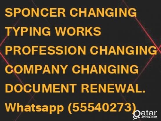 FREELANCE VISA-TRANSFER OF SPONSORSHIP, sponcer change, company block remove,