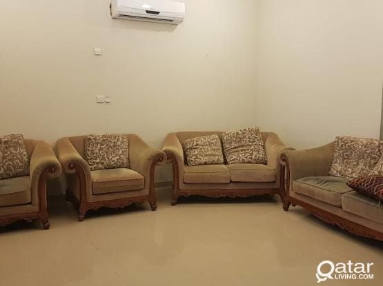 MOVING SALE !!! Sofa set (3+1+1)