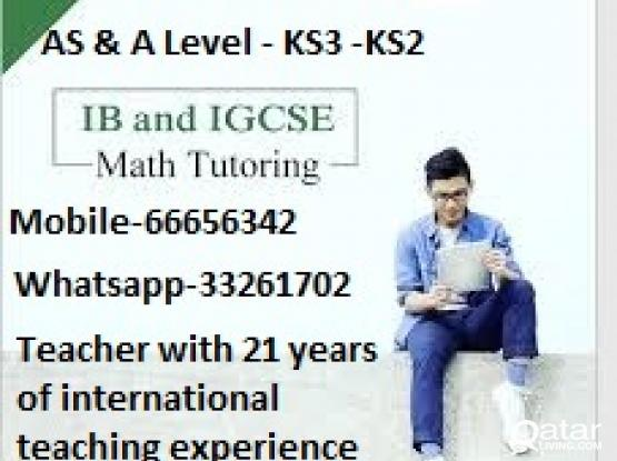 Keystage-2, Keystage-3, AS/A level,Edxcel-IGCSE-Cambridge Maths &  Science classes for grades 5 to 13:66656342