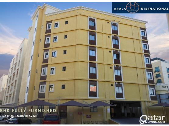 #1MONTH FREE #ALL BILLS INCLUDED FULLY FURNISHED 1 BED ROOM FLATS AVAILABLE IN MUNTHAZA!!