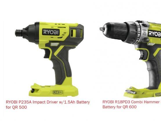 20V & 18V Cordless Power Tools
