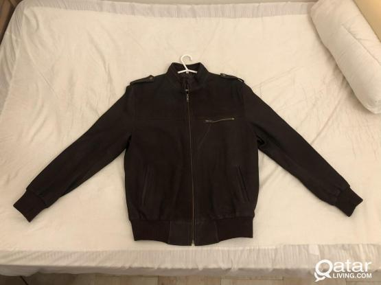 Brown Leather Jacket - New