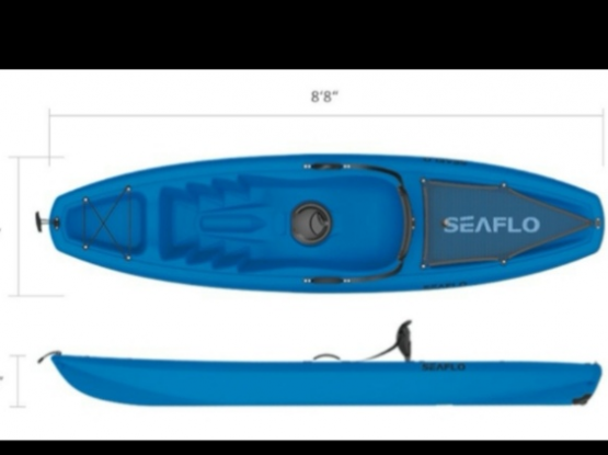 Seaflo single Kayak
