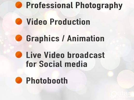 Photography and Videography service.