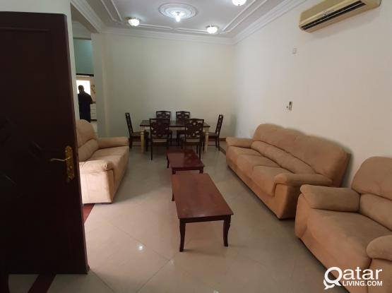 3BHK fully furnished with maid room close to swiss international school