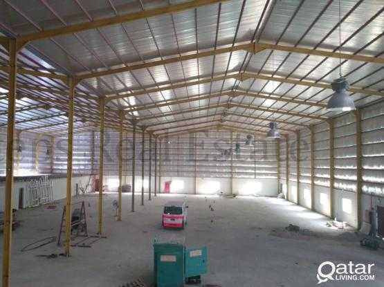 5000 SQM Brand New Warehouse For Rent