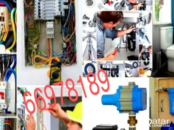 Electrical work plumbing work Building maintanin work & painting work