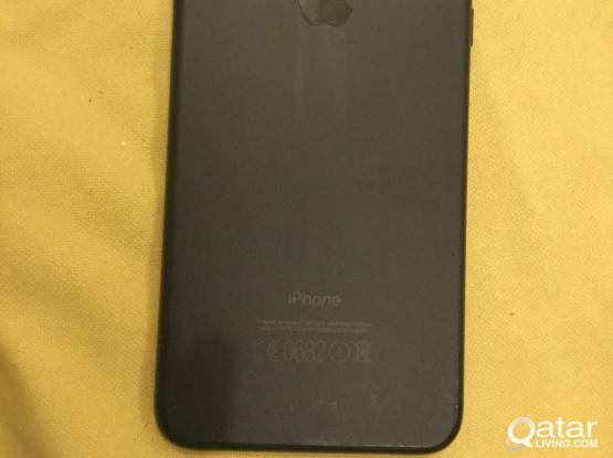 Iphone 7 plus 128 black matte