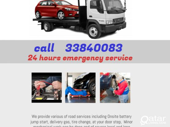 car tow recovery service