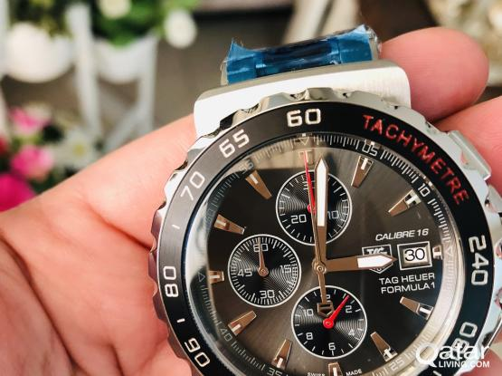 TAGHUER FORMULA ONE AAA ON HANDS NEW PREMIUM QUALITY ONE TO ONE