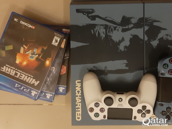 Limited Edition PS4 1tb + 3 Games Free