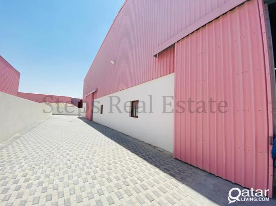 2000sqm Steel Factory and 5000 open land