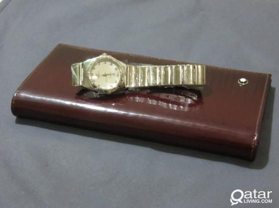 Mont Blanc Couple Wallets + Watch