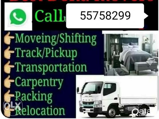 All kinds of Shifting and moving works. Please call or whatsapp 55758299/55124675