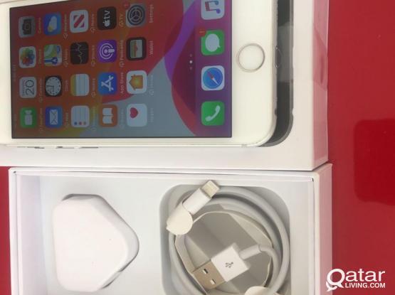 I Phone 6S Silver White 64 GB