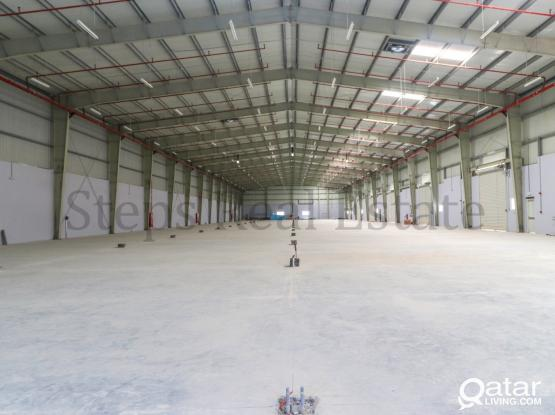 Huge Brand New Warehouse in Berkat Al Awamer