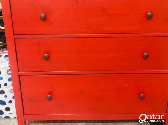 Ikea Storage Shelf- Wardrobe 3 Doors