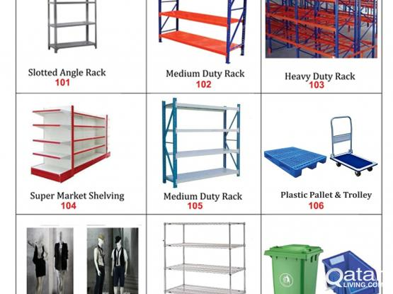 Shelves & racks for warehouse and shops in Qatar & Doha- Al Rawi Group
