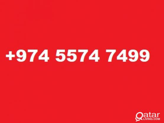 Special number: +974 5574 7499