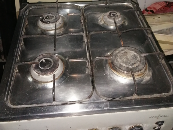 Electronic And Gas Stove