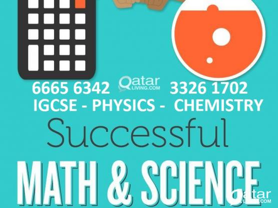 IGCSE-Edexcel -Cambridge-AS/A level,KS3-Maths/Physics/Chemistry/science coaching at your home & online :66656342