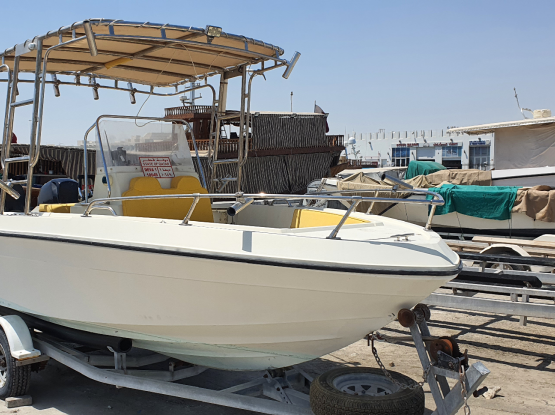 19ft excellent condition with 2×60HP mercury