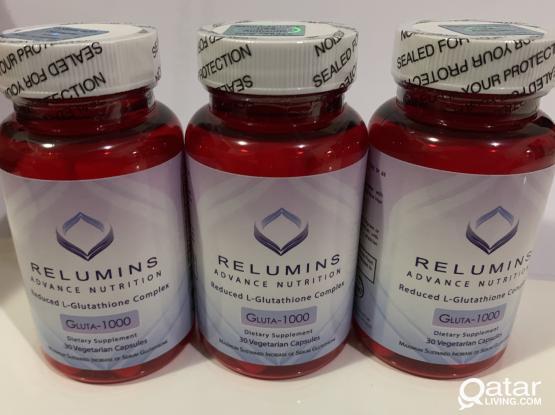 RELUMINS L-GLUTATHIONE
