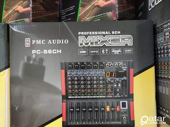 Professional Audio Mixer Available in stock.