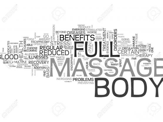 Home visit Full body massage/sportif massage