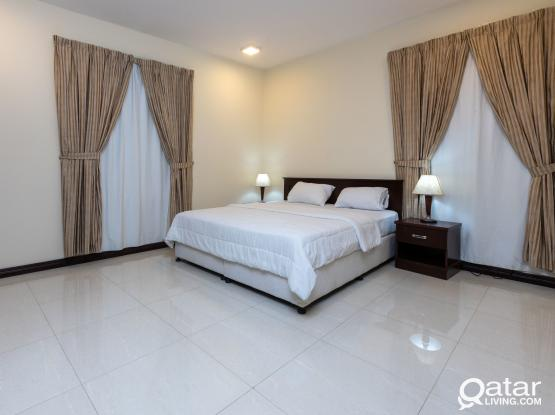 Fully Furnished apartments 3 BHK in Al-Najma  4Rent