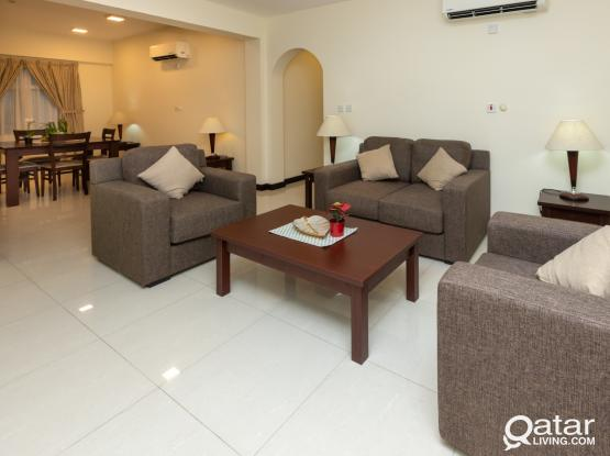 Fully Furnished 2 BHK in Al-Najma 4Rent
