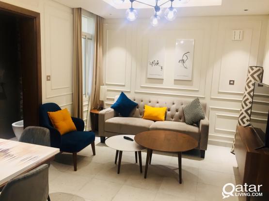 Luxury 1-Bedroom Apartment Doha Jadeed