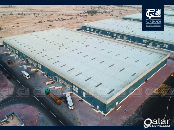 Ventilated Warehouses for Immediate Lease in Umm Salal
